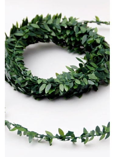 Funbou Telli Yaprak Şerit Yeşil